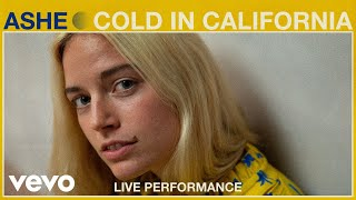 "Ashe - ""Cold in California"" ft. Gavin Haley Live Performance 