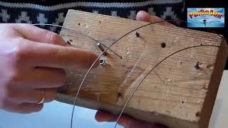Как сделать пружинку для безынерционной катушкина