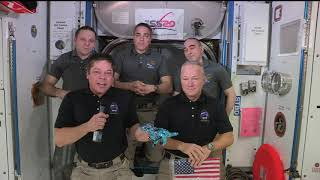 Expedition 63 SpaceX DM 2 Farewell Ceremony - August 1, 2020