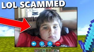 This kid SCAMS players on my Minecraft server.. and doesn't care when he's caught!