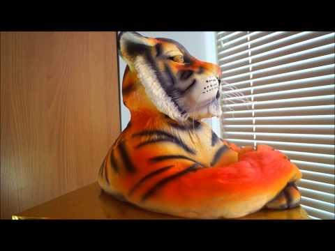 Идея 3д торта тигр