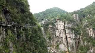 preview picture of video 'Qingliangfeng town Hangzhou Lin'an Daming Mountain 浙江省杭州市临安市 清凉峰镇 大明山风景区'