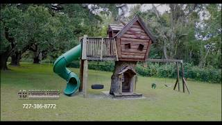 4D Productions Aerial Drone Video Tree House