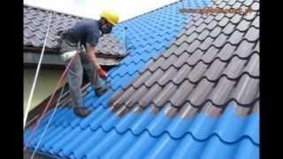 Malowanie Dachów, Impregnacja Dachówki Tel. 602 215 364 Śrem, Poznań, Cała Wielkopolska