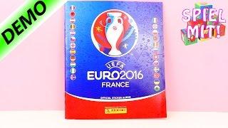 Europameisterschaft Panini Uefa Euro 2016 France Fußball Stickerheft