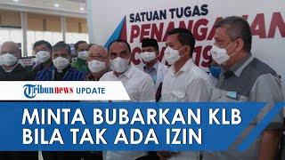 Gubernur Sumut Minta KLB Partai Demokrat Dibubarkan Jika Tak Ada Izin, Begini Kata Edy Rahmayadi