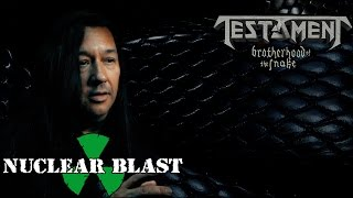 TESTAMENT - The recording process for 'Brotherhood of the Snake' (OFFICIAL TRAILER)