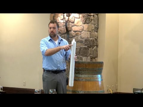 Wine Seminar: Membrane Filtration Final Bottling