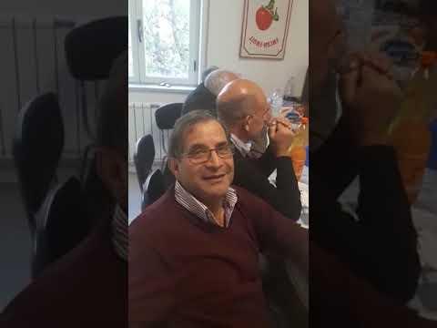 Festa di pensionamento di Bernrado Seragusa.