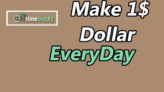 How to make 1 dollar per day | Easy with this system