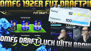 FIFA 16 OMG 192 RATED FUT DRAFT DEUTSCH  FIFA 16 ULTIMATE TEAM  BEST DRAFTS EVER WITH MY BRO