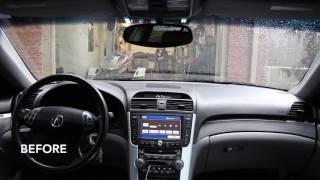 Acura TL stock amp vs Jesse's amp