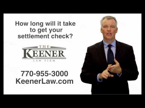 Who Else Wants to Know When You Will Get Your Settlement Check?  - Georgia Workers' Compensation