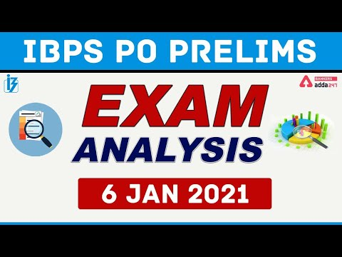 IBPS PO Pre Exam Analysis (6 January 2021) | IBPS PO Analysis ...