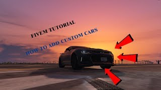 How to] Put an Addon Car on your FiveM Server - Thủ thuật