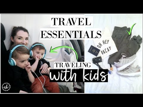 TRAVEL ESSENTIALS ✈ Traveling with Kids + Favorite Products, Clothing, Gadgets | Natalie Bennett