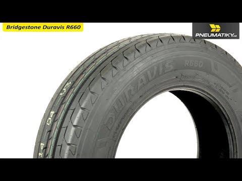 Youtube Bridgestone Duravis R660 195/70 R15 C 104 R Letní