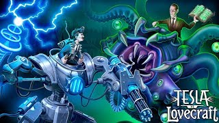 Tesla vs Lovecraft - Part 1 - An Intense, Top-down, Twin Stick, Arena Shooter. Let's Play Gameplay.