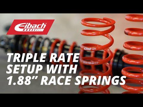 Eibach Triple Rate Spring setup