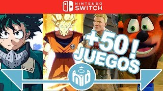 Lanzamientos Nintendo Switch 2018 2019 - Third Party | N Deluxe