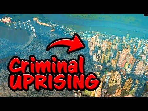 CRIMINAL UPRISING - The Prison City Survives? [Cities Skylines]