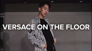 Versace on The Floor - Bruno Mars vs David Guetta / Jinwoo Yoon Choreography