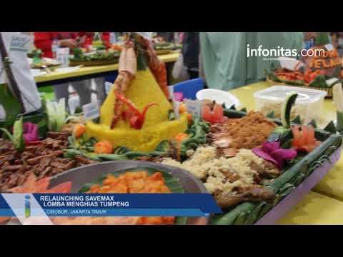 Relaunching SaveMax Lomba Menghias Tumpeng, Cibubur