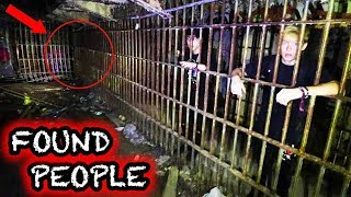 (people inside!) EXPLORING ABANDONED INNER CITY PRISON