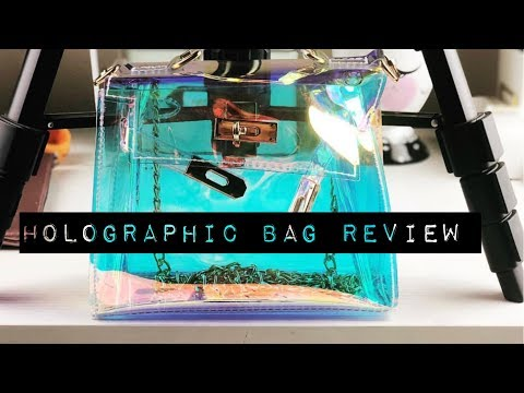 Holographic Purse Review – Amazon | Planning With Kristen