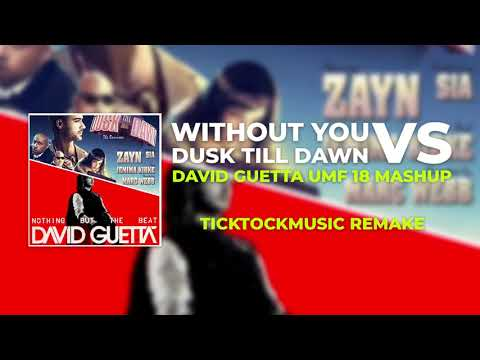 Without You Vs Dusk Till Dawn (David Guetta UMF 18 Mashup)