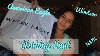 AMERICAN EAGLE CLOTHING HAUL✨