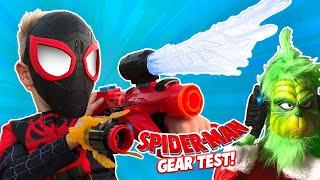 Download Video Spider-Man Into the Spider-Verse Movie Gear Test + The Grinch Returns! KIDCITY MP3 3GP MP4