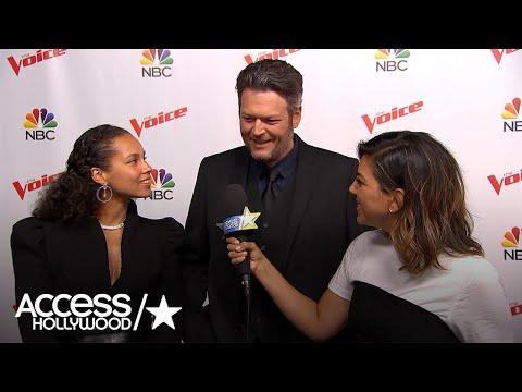 Blake Shelton & Alicia Keys On 'The Voice' Season 12 Finale | Access Hollywood