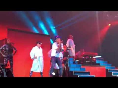 Pharrell 'Frontin' & 'Hunter' Live O2 Arena London Dear GIRL Tour 10/10/14