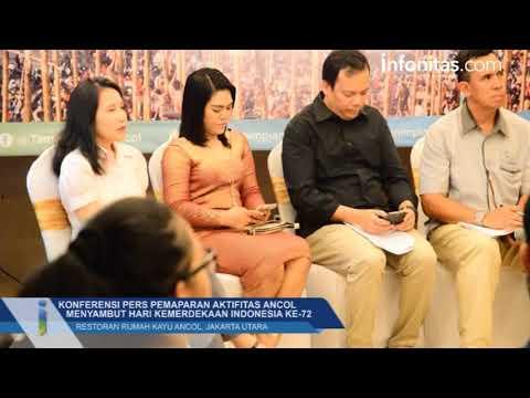 Konferensi Pers Ancol Menyambut Hari Kemerdekaan Indonesia Ke 72