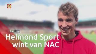 Daan Klomp juicht als hij scoort of met Helmond Sport wint van NAC: 'Zou fantastisch zijn'