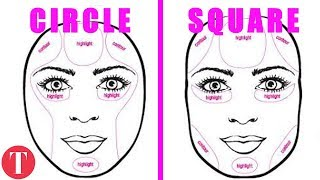 10 Ways To Nail Your Makeup For Your Face Shape