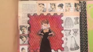 From the Archives: Junk Journal with Fold Outs