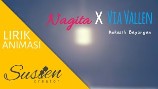 Nagita feat via vallen - Kekasih Bayangan ( Lyrics + Animation )