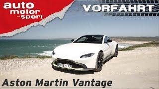 Aston Martin Vantage (2018): Die beste Wahl für AMG-Power? - Vorfahrt (Review)   auto motor & sport