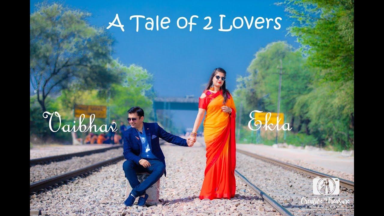 Vaibhav & Ekta - A PreWed shoot Beyond Imagination