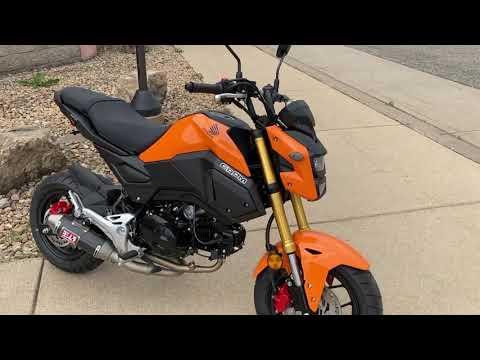 2020 Honda Grom in Belle Plaine, Minnesota - Video 1