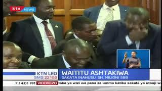 Waititu ashtakiwa pamoja na mkewe