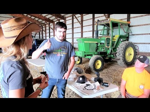 BTP Talks with OLF about his new Westendorf Loader - Youtube