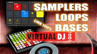 Sampler Loops y Bases Para Virtual Dj 8
