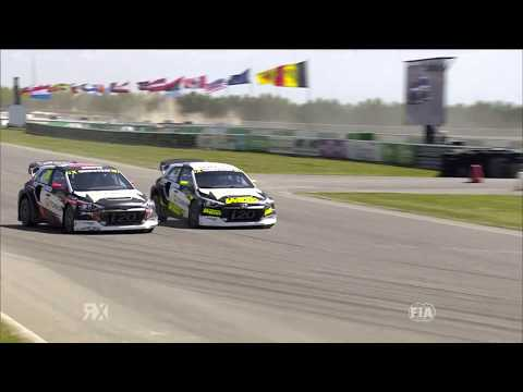 Timerzyanov Dives Past Gronholm | World RX of Belgium