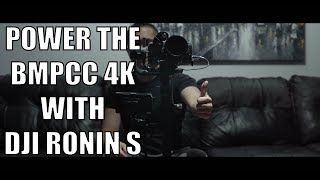 Power BMPCC 4k with Ronin S