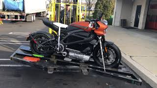 First LiveWire Has Arrived At Brian's Harley-Davidson