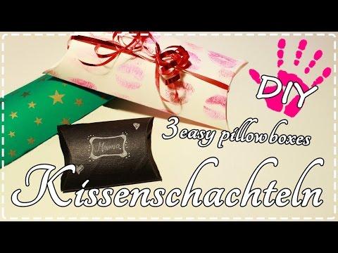 DIY Geschenkverpackungen ♥ 3 Varianten + Vorlage!