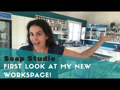 🔴  My New Soap Studio! Live Tour